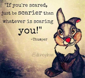 Bambi's Thumper quote via www.Facebook.com/DisneylandForMisfits and by ...