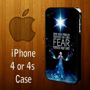 Ownza - B1153 Elsa Frozen Quotes Iphone 4 or 4s Case | statusisasi ...