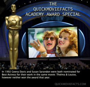 Some fun facts about this years Oscars…