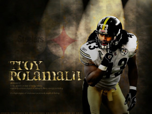 Troy Polamalu - Pittsburgh Steelers