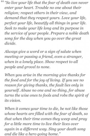 Poem - Act of Valor: Quotes Poetry, Tecumseh Poems, Act Of Valor ...