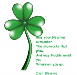 Irish Blessings in honor of St Partick's Day from Mill Creek Hotel ...