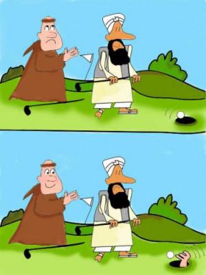Cartoon: Power of.....Golf (medium) by EASTERBY tagged sport ...