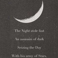 quote moon Grunge night stars dark star book quote Spiritual soft ...