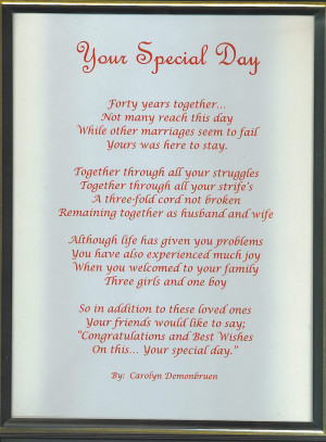 Wedding Gift For Christian Friend : Christian Wedding Poems And Quotes. QuotesGram