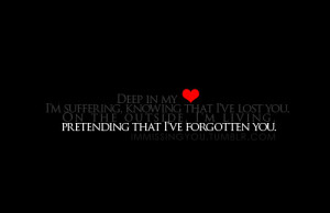 broken heart, dark, emo, heart, heartbreak, love, poetry, pretend ...