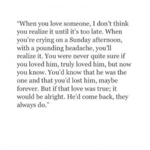losing him quotes