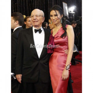 Rupert Murdochs Wife Wendi Deng 83rd Annual Academy Awards Red Carpet