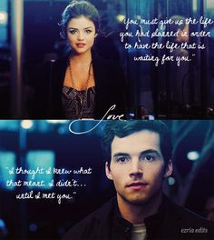 Stop! {Ezra and Aria} {Pretty Little Liars} More