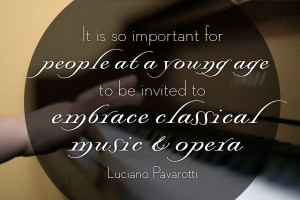 And another great #opera quote, this one by Luciano Pavarotti