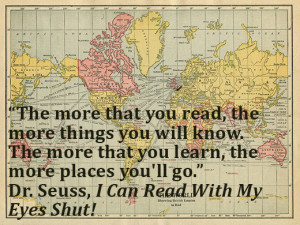 things you will know. The more that you learn, the more places you ...