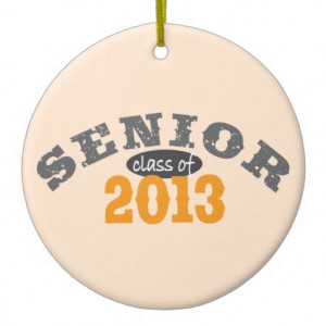 Senior Class of 2013 Ornament