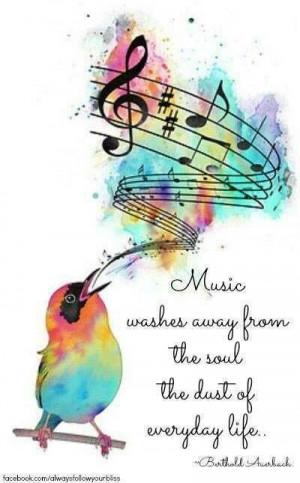 Colorful Music Quotes. QuotesGram