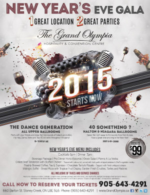 Grand Olympia New Year 2015