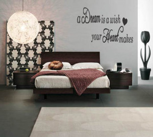 easy focal point master bedroom wall mural quotes design inspiration ...