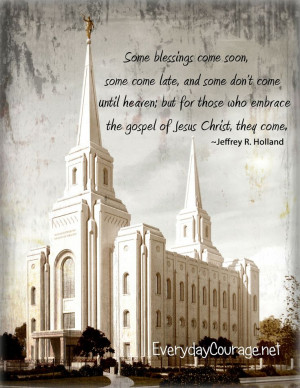 They Come | Creative LDS Quotes