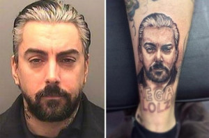 Former Lostprophets Singer Moved To Monster Mansion, Inspires Tattoo