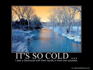 It's so cold outside...