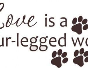 Animal Love Quotes Sayings