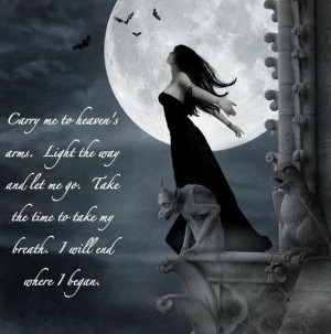 Displaying (19) Gallery Images For Gothic Love Quotes...