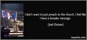 Joel Osteen Quote