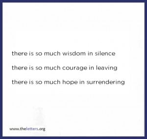 Quotes about Silence