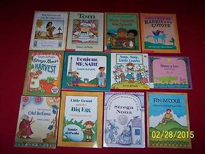12 Tomie dePaola picture books Strega Nona Fin Mcoul Old Befana Tom