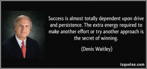 driven to succeed quotes source http izquotes com quote 191735