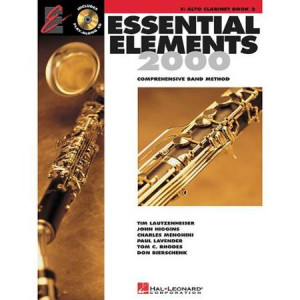 Hal Leonard Essential Elements Jazz Ensemble for Clarinet (Book with 2 ...
