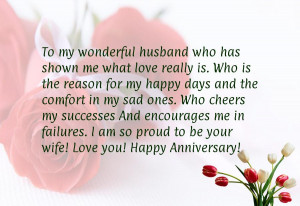 Happy Anniversary Love Quotes For Him Anniversary sayings for him