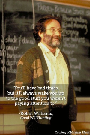 Robin Williams 10 quotes about life