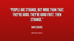 People Are Strange Quotes