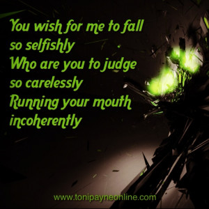 Picture Quote about Haters, Envy and People who Judge you