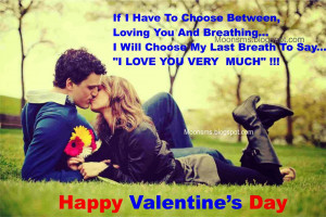 Happy Valentines Day 2014 sms text message quotes Romantic Lovely ...