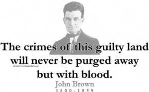 Design #GT146 John Brown - The crimes of this guilty land