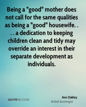 Being a Good Mother Quotes