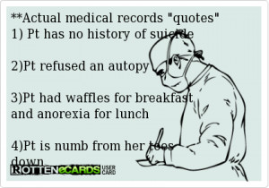 Medical Records quote #2