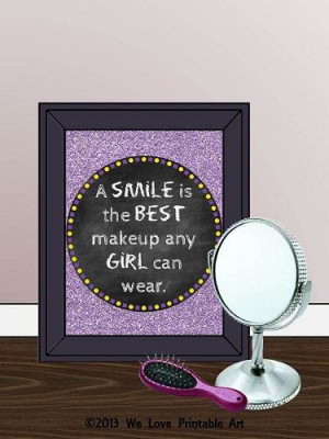 Framed Quotes Print Teen Room Decor Gifts For Teen Girls Teenager Wall ...