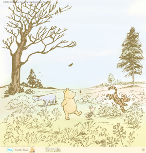 EK Success - Disney Collection - Classic Pooh - 12 x 12 Paper with ...