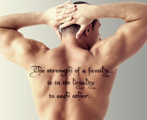 quote about family tattoo