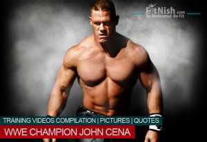 WWE Champion John Cena, Training Videos Compilation, Pictures, Quotes