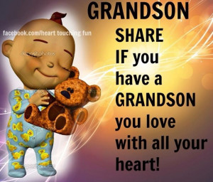 Proud of Grandson Quotes | via cookie58