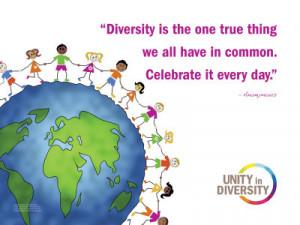 Celebrate Diversity Art Print