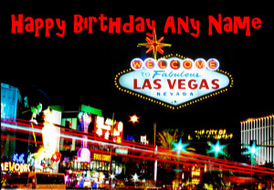 Vegas Birthday Cake...