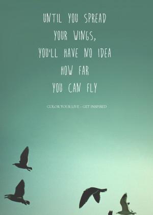 Until-you-spread-your-wings-mooie-tekst-poster-voor-aan-de-muur ...