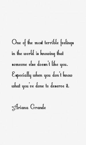 Ariana Grande Quotes amp Sayings
