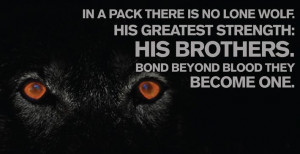 lone wolf quotes about strength