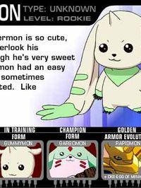 Terriermon Digimon Tamers