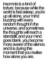 alone #insomnia #insomniac #lonely
