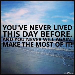 Inspirational Quotes for a Good Morning…and a Great Day!